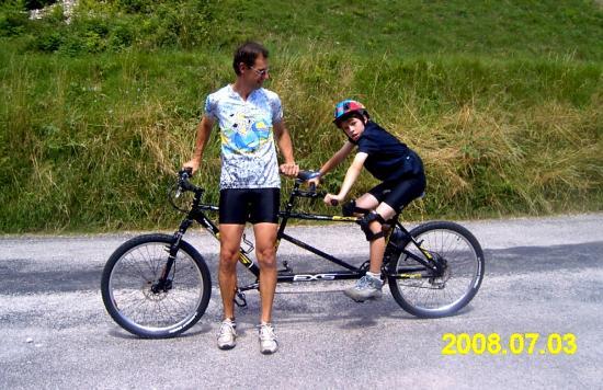 Sur le grand grand vélo, gare à ne pas perdre les pédales !!!