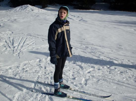 Antoine in the skis ( 1 ) ...